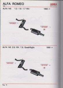 ANSA Alfa Romeo 145