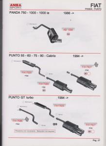 ANSA Fiat Punto 60-65-70 nr. FA17427