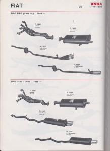 ANSA Fiat Tipo 1400-1600 Manifold FA11781