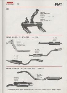 ANSA Fiat X 1-9, Ritmo, Nuova Ritmo