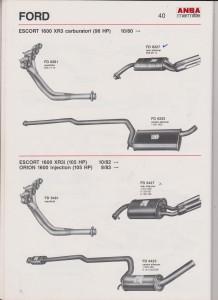 ANSA Ford Escort XR3-XR31 page 40