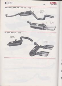 ANSA Opel Ascona C, brochure page 88