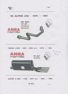 ANSA Renault Fuego page 79