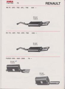ANSA Renault Fuego, page 79