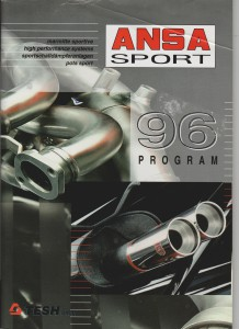 ANSA Sport 1996 program