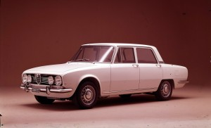 Alfa Romeo 1750 Berlina.
