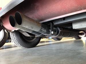 Austin Mini Abarth exhaust