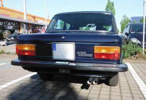 FIAT 125 Heck