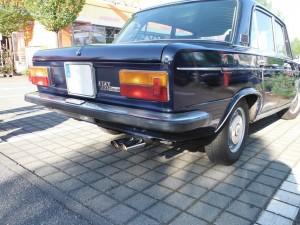 FIAT 125 Heck-Seite