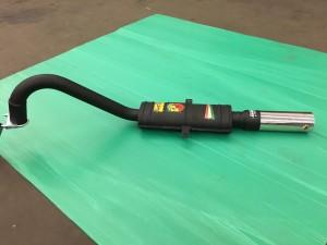 Fiat 124 spider CS, Abarth single reonator endsilencer. nr. 2 jpg