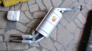 Fiat 127 Endmuffler
