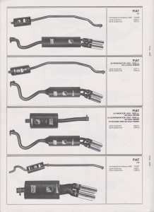 Fiat 131, Supermirafiori 131,132