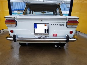 Fiat 1500 C Berlina 1965, Abarth nr. 1233 nr 9
