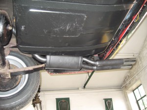 Fiat 2300 S Coupe ABARTH exhaust nr (3)