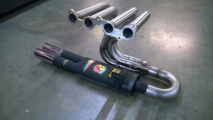 Fiat 850 stainless manifold (2)