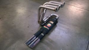 Fiat 850 stainless manifold (3)