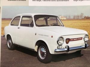 Fiat Abarth 1000 OT Grille (2)