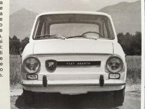Fiat Abarth 1000 OT Grille (5)