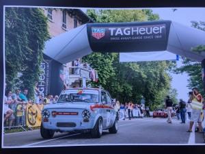 Fiat Abarth 1000 OT Silver Flag nr. 1