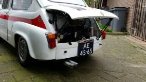 Fiat-Abarth 1000 TC Competizione manifold + Abarth silencer (1)