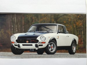 Fiat Abarth 124 Rally CSA