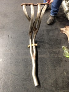 Fiat-Abarth 130 TC Stainless Manifold (2)