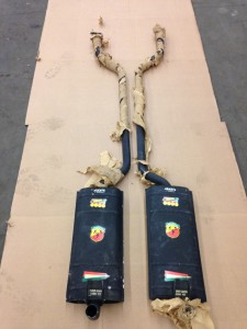 Ford 2300GT Abarth Middle mufflers nr. 1385 005