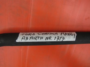 Ford Cortina Mk II, Abarth middlemuffler nr. 1317 (1)