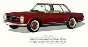 Mercedes 1964-230SL