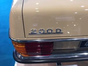 Mercedes-Benz 200-220 + Diesel W115 nr.1