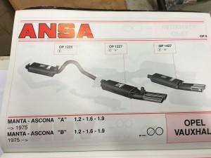 Opel Ascona-Manta A-B ANSA