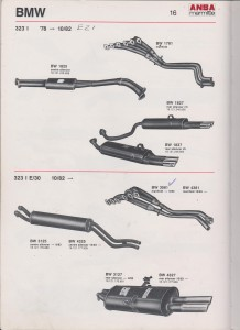 ANSA BMW 323i E21, page 16 from 19-b