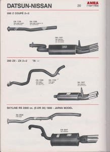 ANSA Datsun 280 ZX-ZX 2+2 page 20