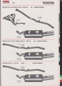 ANSA Toyota Celica XX 2,0 GT Twin Cam, TY 1626