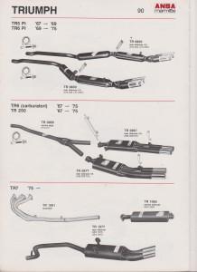 ANSA Triumph TR6 Pi-TR5-TR250 19-B page 90