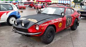 Datsun 240Z East African Safari