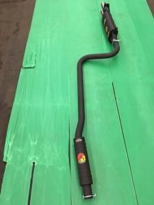 Datsun 260Z 50mm pipe + High HP endsilencer, nr. 1444, nr.4