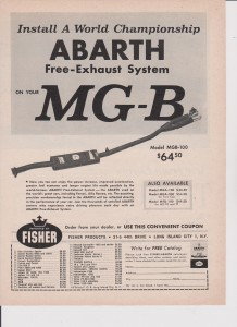 MG B Abarth nr. 1222