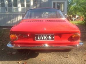 Simca 1000 Bertone Coupe, Abarth nr. 1173 nr. 1