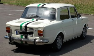 Simca 1000 Competizione exhaust nr. 1382 nr.6