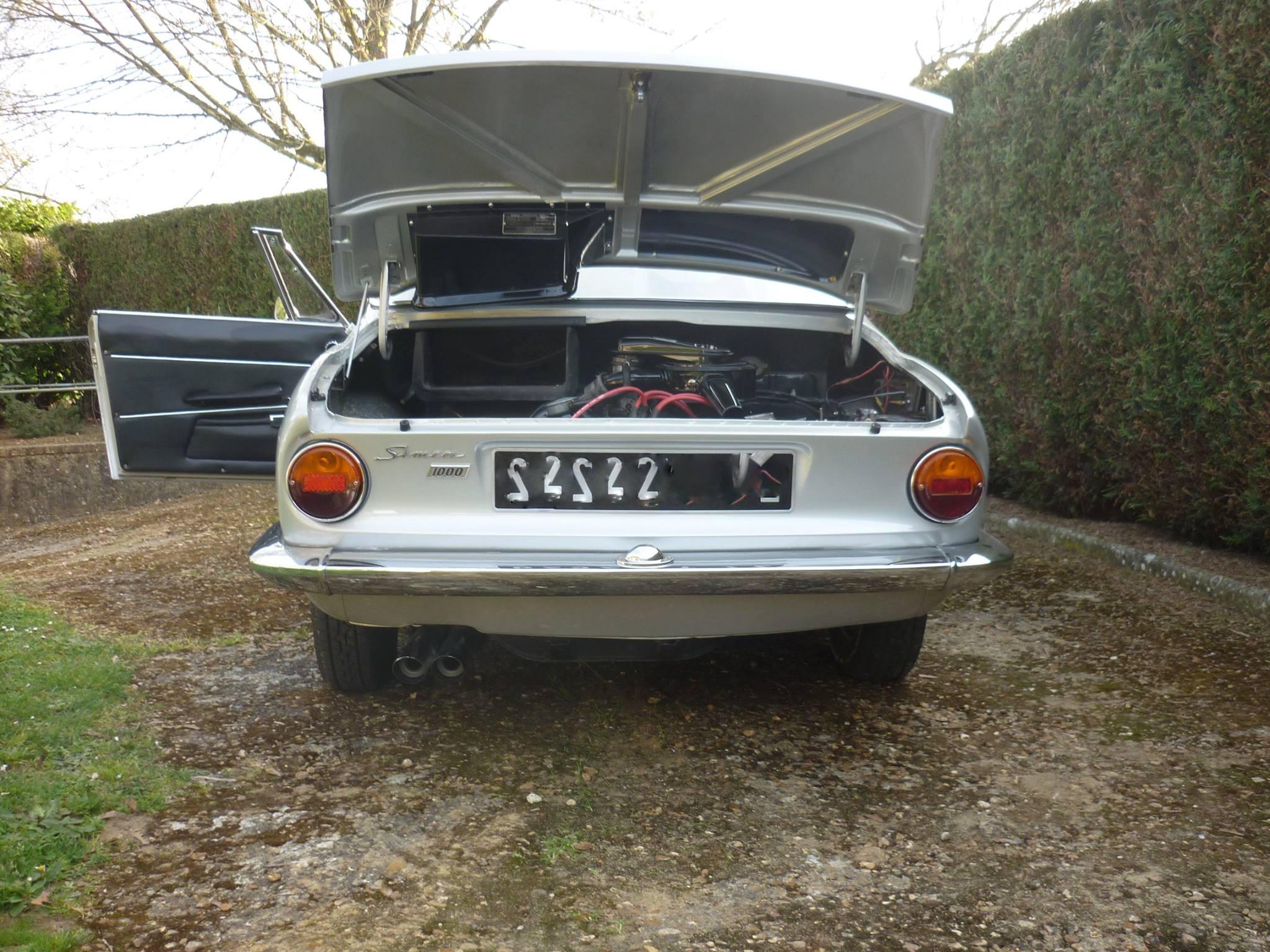 Simca abarth exhausts - Simca 1000 coupe bertone a vendre ...