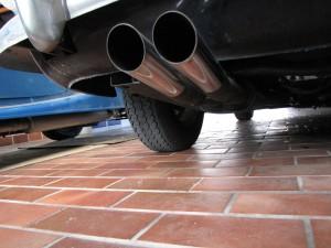 Triumph TR 250 Doppel Abarth Endschalldämpfer
