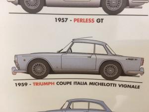 Triumph TR3 Italia Vignale