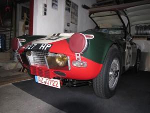 Triumph TRS, Le Mans 1961 (1)