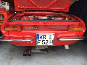 Fiat Abarth 1000 OT Spider
