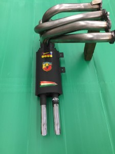 Fiat Abarth 1000 TC 35 mm pipes nr. 1