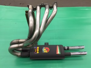 Fiat Abarth 1000 TC 35 mm pipes nr. 3