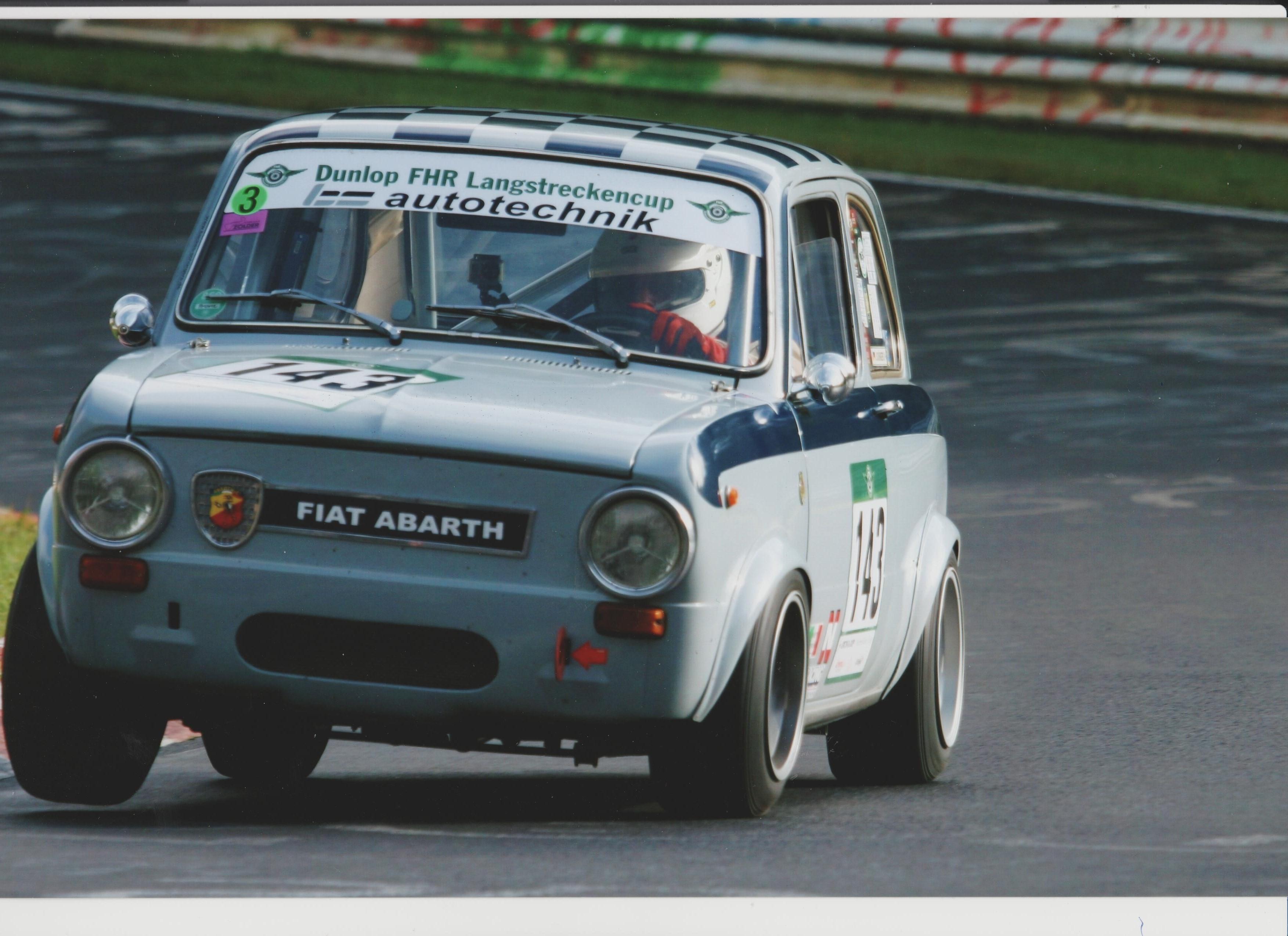 Fiat Abarth 1000 Ot New Racingcar Has Just Arrived