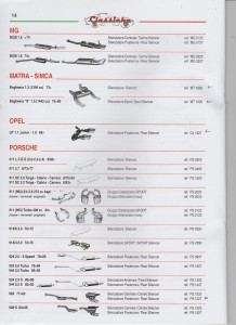 ANSA Classiche Matra-Simca Bagheera (MG-Opel- Porsche