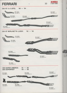 Ferrari 250 GT, Berlinetta Lusso and 400-500 page 30